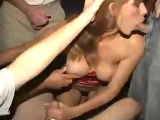 theater gangbang porn